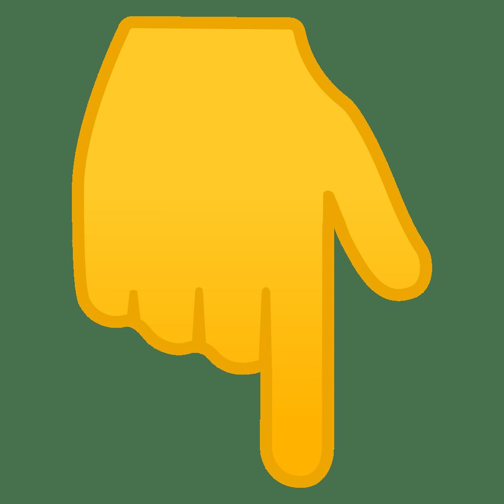 фото картинка палец указывающий вниз воротник абсолютный хит